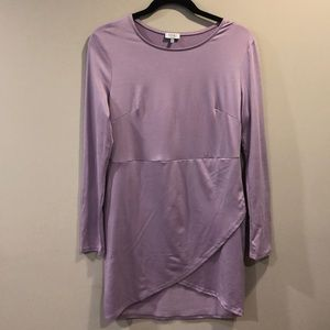 Lavender TOBI Long-Sleeve Dress Sz L
